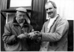 Vader en zoon Mol met Klein 76 doffertje en Schallie van de Klak.jpg